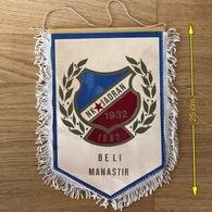 Flag (Pennant / Banderín) ZA000412 - Football (Soccer / Calcio) Croatia Jadran Beli Manastir - Apparel, Souvenirs & Other