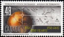 Canada - Scott #1962 Toronto Stock Exchange / Used Stamp - 1952-.... Reign Of Elizabeth II