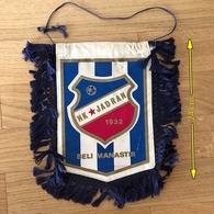 Flag (Pennant / Banderín) ZA000413 - Football (Soccer / Calcio) Croatia Jadran Beli Manastir - Apparel, Souvenirs & Other