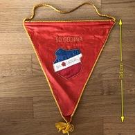 Flag (Pennant / Banderín) ZA000414 - Football (Soccer / Calcio) Croatia Jadran Beli Manastir - Apparel, Souvenirs & Other