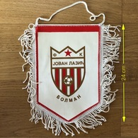 Flag (Pennant / Banderín) ZA000417 - Football (Soccer / Calcio) Croatia Jovan Lazic Bolman - Apparel, Souvenirs & Other