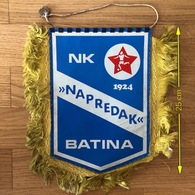 Flag (Pennant / Banderín) ZA000420 - Football (Soccer / Calcio) Croatia Napredak Batina - Apparel, Souvenirs & Other