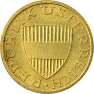 Monnaie, Autriche, 50 Groschen, 1988, SUP, Aluminum-Bronze, KM:2885 - Autriche