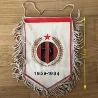 Flag (Pennant / Banderín) ZA000428 - Football (Soccer / Calcio) Croatia Partizan Petlovac - Apparel, Souvenirs & Other