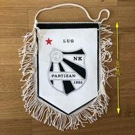 Flag (Pennant / Banderín) ZA000429 - Football (Soccer / Calcio) Croatia Partizan Lug - Apparel, Souvenirs & Other
