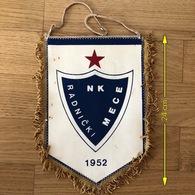 Flag (Pennant / Banderín) ZA000433 - Football (Soccer / Calcio) Croatia Radnicki Mece - Apparel, Souvenirs & Other