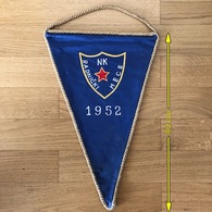 Flag (Pennant / Banderín) ZA000434 - Football (Soccer / Calcio) Croatia Radnicki Mece - Habillement, Souvenirs & Autres