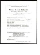 Medard BOLLAERT 1906 1978 Et/v Albertine De JAEGER Sint-Margriete  Sint-Laureins - Obituary Notices