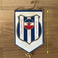Flag (Pennant / Banderín) ZA000435 - Football (Soccer / Calcio) Croatia Radnicki Mirkovac - Apparel, Souvenirs & Other