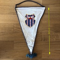 Flag (Pennant / Banderín) ZA000436 - Football (Soccer / Calcio) Croatia Radnicki Mirkovac - Apparel, Souvenirs & Other