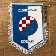Flag (Pennant / Banderín) ZA000438 - Football (Soccer / Calcio) Croatia Slavonac Novaki - Apparel, Souvenirs & Other