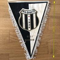Flag (Pennant / Banderín) ZA000439 - Football (Soccer / Calcio) Croatia Sparta Beli Manastir - Apparel, Souvenirs & Other