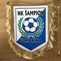Flag (Pennant / Banderín) ZA000442 - Football (Soccer / Calcio) Croatia Sampion Sumarina - Apparel, Souvenirs & Other