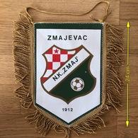 Flag (Pennant / Banderín) ZA000444 - Football (Soccer / Calcio) Croatia Zmaj Zmajevac (Hungary Sarkany Vorosmart) - Apparel, Souvenirs & Other