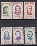FRANCE/DU  N° 1082   AU N° 1087   NEUF SANS  CHARNIERE COTE  18.50  EURO - Other