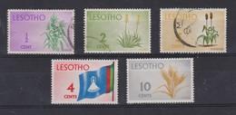 LESOTHO 1968, Petit Lot D'oblitérés - Lesotho (1966-...)