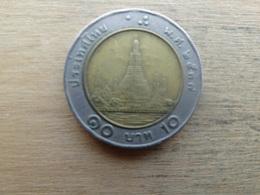 Thailande  10  Baht  2537  Y 227 - Thaïlande
