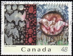 CANADA - Scott #2002f Hommage à Rosa Luxembourg By Hean-Paul Riopel / Used Stamp - Art