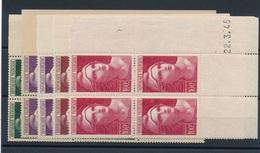 N-8: FRANCE: Lot De CD** Marianne De GANDON N°730-731(2)-732-7300 - 1940-1949