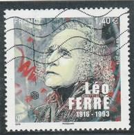 FRANCE 2016 LEO FERRE OBLITERE ROND - YT 5080 - France