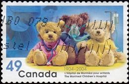 CANADA - Scott #2035 Montréal Children's Hospital (*) / Used Stamp - 1952-.... Reign Of Elizabeth II