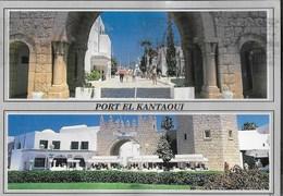 TUNISIA - SOUSSE  - PORT EL KANTAOUI - VIAGGIATA 1997 FRANCOBOLLO ASPORTATO - Tunisia
