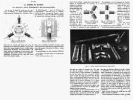 LA FUSION DU  QUARTZ Le Nouveau Four Electrique BILLON-DAGUERRE   1912 - Other