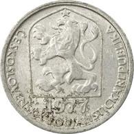 Monnaie, Tchécoslovaquie, 10 Haleru, 1977, B+, Aluminium, KM:80 - Tchécoslovaquie