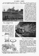 LE CANON à CIMENT   1912 - Technical