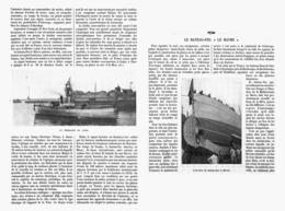"""LE BATEAU-FEU  """" LE HAVRE """"  1913 - Bateaux"""