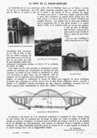 "LE PONT De La   "" ROCHE-BERNARD ""   1913 - Bretagne"