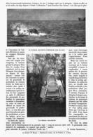 UN TRAINEAU SOUS-MARIN  1913 - Transportation