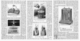 COMMENT ON CONSTRUIT UN DETECTEUR DE T.S.F  1913 - Radio & TSF