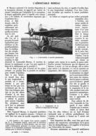 "L'AEROSTABLE   "" MOREAU "" 1913 - Transportation"