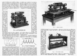 "LE NOUVEAU TELESTEREOGRAPHE    "" EDOUARD BEELIN ""   1913 - Technical"