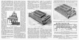 LA PREMIERE MACHINE A CALCULER à TOUCHES ( PASCAL )  1913 - Other