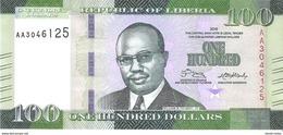 Liberia - Pick 35 - 100 Dollars 2016 - Unc - Liberia