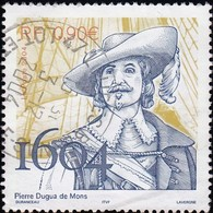 CANADA - Scott #2044 Pierre Dugas De Mons / Used Stamp - 1952-.... Reign Of Elizabeth II