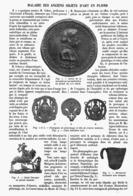 MALADIE DES ANCIENS OBJETS D'ART EN PLOMB  1913 - Etains