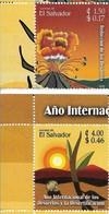 EL SALVADOR 2006, DESERTIFICATION AND DISASTER REDUCTION, SET OF 2 VALUES, SCOTT 1652-3, COMPLETE, MNH, MINT NH - El Salvador