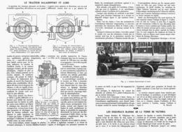 LE TRACTEUR BALACHOWSKY Et CAIRE  1913 - Transportation