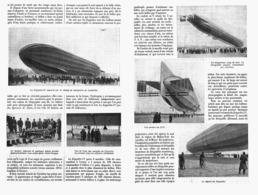 "L'AVENTURE DU "" ZEPPELIN ""  1913 - Transportation"
