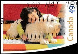 CANADA - Scott #2060 Dog / Used Stamp - 1952-.... Reign Of Elizabeth II