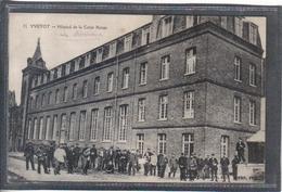 Carte Postale 76. Yvetot Hôpital De La Croix Rouge Très Beau Plan - Yvetot