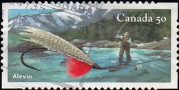 CANADA - Scott #2088a Fishing Flie / Used Stamp - 1952-.... Reign Of Elizabeth II