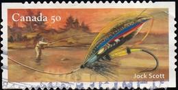 CANADA - Scott #2088b Fishing Flie / Used Stamp - 1952-.... Reign Of Elizabeth II
