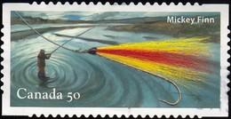CANADA - Scott #2088d Fishing Flie / Used Stamp - 1952-.... Reign Of Elizabeth II