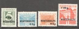 1933  Winterhilfe  MiNr 563-6  * - Neufs