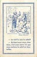 Themes Div-ref Y297- Illustrateurs - Illustrateur Henriot - Publicité Alcool Pour Le Vin - Carte Bon Etat  - - Henriot