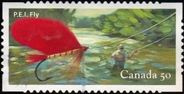 CANADA - Scott #2088c Fishing Flie / Used Stamp - 1952-.... Reign Of Elizabeth II